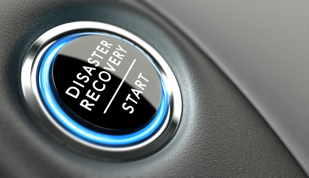 Business Disaster Recovery Plan Start Button